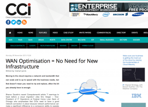 WAN Optimization = No need for new Infrastructure Bridgeworks