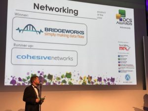 Bridgeworks Wins Networking Vendor of the Year 2017! Bridgeworks