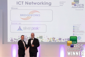 Bridgeworks Wins ICT Networking Product of the year 2018 Bridgeworks